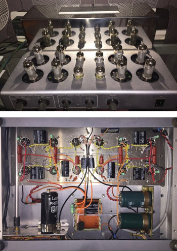 Lectron hybrid amplifier