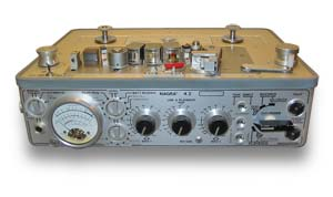 A serviced Nagra tape recorder.